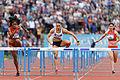2014 DécaNation - 100 m hurdles 02.jpg