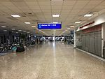 2015-04-14 00 23 40 View toward the outer end of Concourse D at Salt Lake City International Airport, Utah.jpg