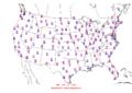 2015-10-03 Max-min Temperature Map NOAA.png