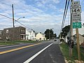2016-09-17 16 56 12 View east along Maryland State Route 144 (Frederick Road) at Maryland State Route 94 (Woodbine Road) in Lisbon, Howard County, Maryland.jpg