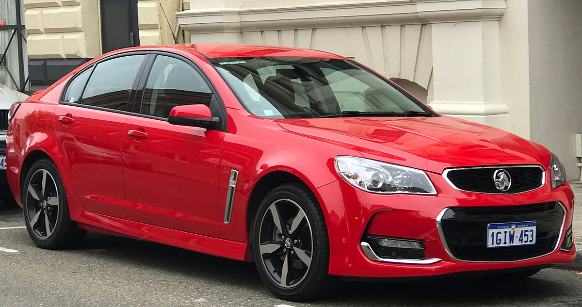 Front Wheel Drive Cars >> Holden Commodore - Wikipedia