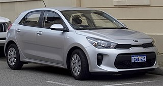 Kia Rio Motor vehicle