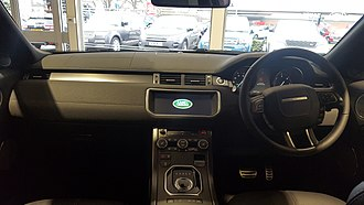Range Rover Evoque - Interior (Facelift)