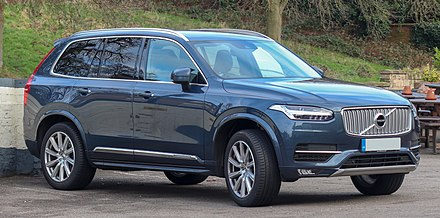 Sweden is home to Volvo Cars, a luxury automobile company which is headquartered in Gothenburg 2018 Volvo XC90 Inscription D5 PowerPulse AWD 2.0.jpg