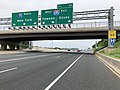 2019-06-05 13 37 08 View north along Interstate 95 (J.F.K. Memorial Highway) at Exit 64 (Interstate 695, Towson, Essex) in Rosedale, Baltimore County, Maryland.jpg
