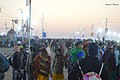 2019 Jan 15 - Prayagraj Kumbh Mela - Sunrise over the Crowd.jpg