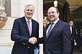 2019 Michel Barnier, Alexander Schallenberg (48060637151).jpg