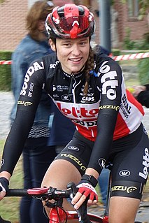 Teuntje Beekhuis Dutch cyclist