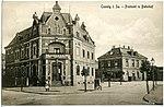 20345-Coswig-1917-Postamt und Bahnhof-Brück & Sohn Kunstverlag.jpg