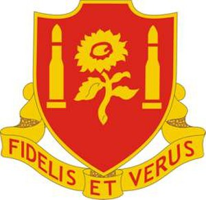29th Field Artillery Regiment - Image: 29th Field Artillery Regiment DUI