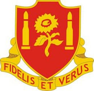 29th Field Artillery Regiment - Image: 29th Field Artillery Regiment DUI