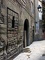 34 Edifici a Sant Domènec del Call 3, façana c. Marlet.JPG