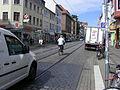 388 tramline+cars+cycling Steintor Bremen.jpg