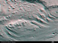 3D view of transition zone between Ares Vallis and Iani Chaos. ESA229536.tiff