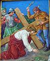 3 Jezus pod krzyzem upada, kolegiata, Lidzbark Warmiński.jpg