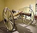 3 inch ordnance rifled cannon - US Army 1861 - Paugh Regional History Hall - Museum of the Rockies - 2013-07-08.jpg