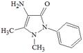 4-amminoantipirina struttura.PNG