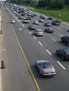 Carpool Lane Rules >> High Occupancy Vehicle Lane Wikipedia