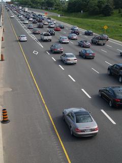 Managed lane type of highway lane