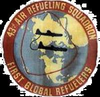 43d Air Refueling Squadron - KB-29 - SAC - Emblem