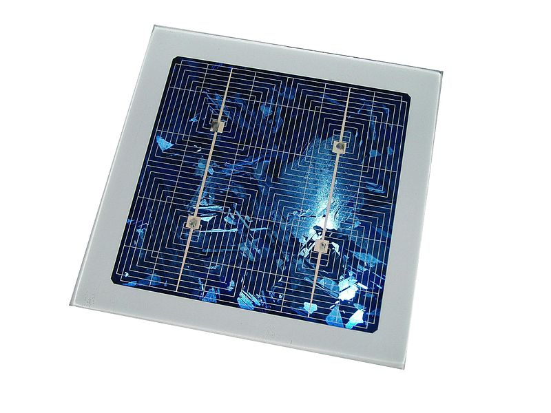 File:4inch poly solar cell.jpg
