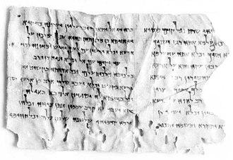 4Q246 - Manuscript 4Q246
