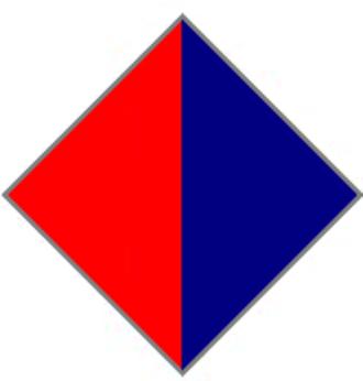 4th Regiment, Royal Australian Artillery - Image: 4th Field Regiment, RAA, Unit Colour Patch