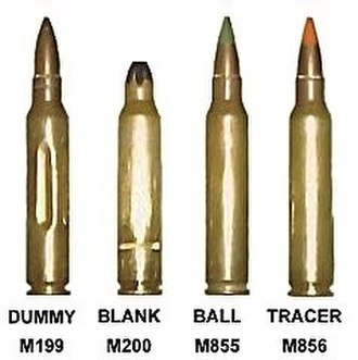 M249 light machine gun - The different rounds that can be successfully loaded into the M249 SAW