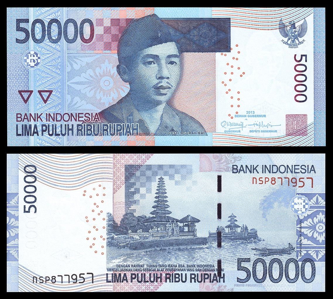 File:50000 Rupiah Bill, 2011 Revision (2013 Date