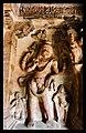 578 CE Narasimha panel (damaged) Badami Cave 3.jpg
