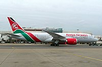5Y-KZF - B788 - Kenya Airways