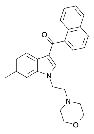 JWH-193 - Image: 6 methyl JWH 200