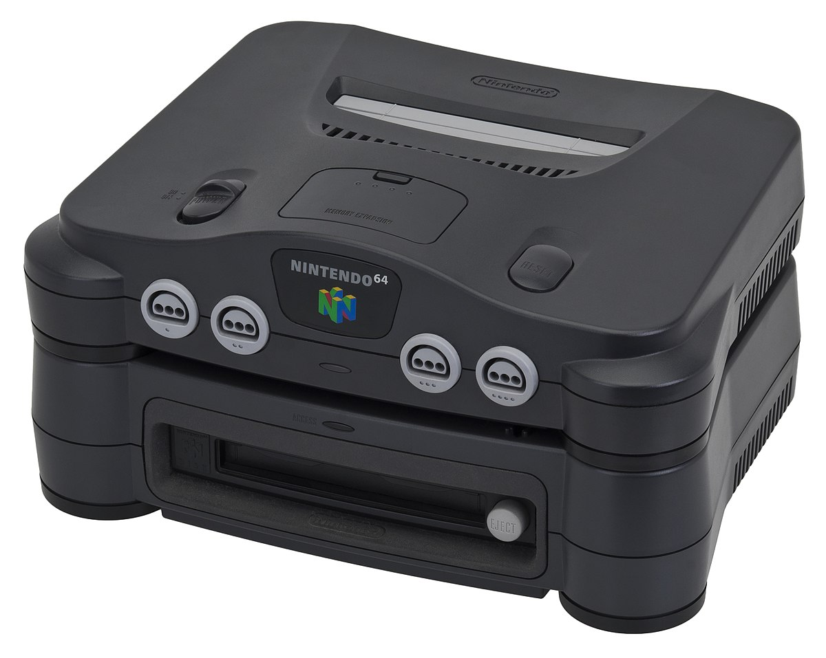 The N64 and its add-on, the 64DD were considered as possible platforms.