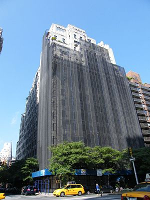 740 Park Avenue - Undergoing renovation in 2008