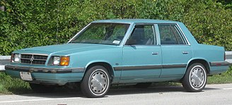 Lee Iacocca - The Dodge Aries, a typical K-Car