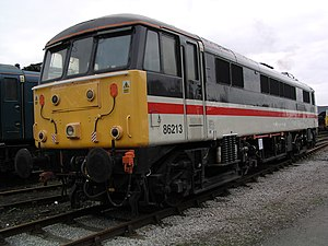 Lancashire Witch - British Rail 86 213 was also named Lancashire Witch