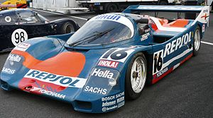 Brun Motorsport - A Brun 962 sponsored by primary backers Repsol and Yokohama.