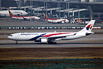 9M-MTH - Malaysia Airlines - Airbus A330-323 - ICN (16954195101).jpg