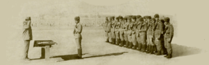 Battle for Hill 3234 - Award presentation ceremony of the 9th Company men.