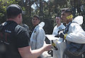 9th CST brings expertise, sense of purpose to disaster response, Universal Studios lends realistic setting to jet crash, radiation leak drill 150408-A-BH123-003.jpg