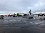 Aéroport de Lyon-Saint-Exupéry - terminal 1B - mars 2018 - avions.jpg