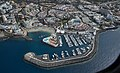 A0432 Tenerife, Adeje and harbour aerial view.jpg