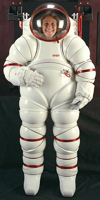 Space suit - NASA's experimental AX-5 hard-shell space suit (1988)