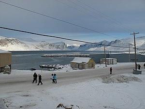 A Nunavut community