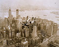 A Pitcairn autogiro flies over Manhattan Island (c. 1931).jpg