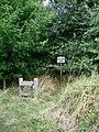A Seat in Longhurst Copse - geograph.org.uk - 40577.jpg