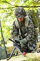 A Slovenian soldier assembles an M240B machine gun during U.S. Army Expert Infantryman Badge (EIB) testing at the Grafenwoehr Training Area, Grafenwoehr, Germany, Aug. 27, 2012 120827-A-HE359-103.jpg