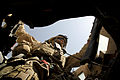 A U.S. Marine with Jump Platoon, 1st Battalion, 5th Marine Regiment, mans the gunner's turret during a mounted vehicle patrol, in Nawa district, Helmand province, Afghanistan, Aug. 22, 2009 090822-M-ZU432-120.jpg