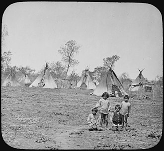 Wichita people - Wichita camp, 1904