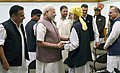 A delegation of All Jammu and Kashmir Panchayat Conference calls on the Prime Minister, Shri Narendra Modi, in New Delhi on November 05, 2016 (1).jpg